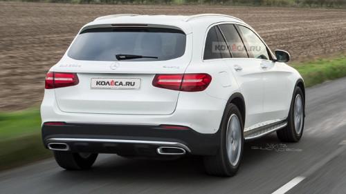 Рестайлинговый Mercedes-Benz GLC: новые изображения