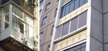 Основные виды остекления балконов