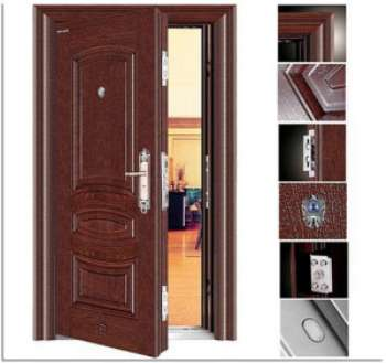 Особенности входных металлических дверей