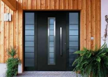 Дизайнерские входные двери для домов от Hormann