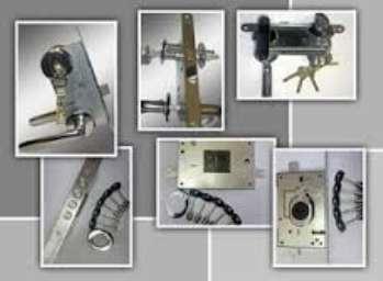 Защита замка от взлома с применением бронепластин и броненакладок
